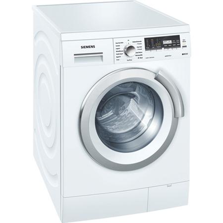 siemens wm14s496gb iq500 freestanding 8kg 1400rpm washing machine white
