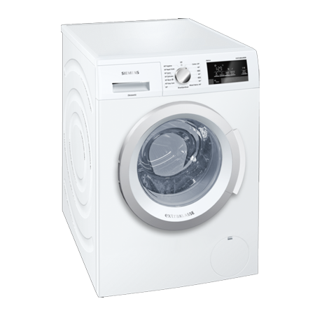 SIEMENS WM14T390GB, 8kg 1400rpm Washing Machine White with ButtonTouch Controls. Ex-Display Model.