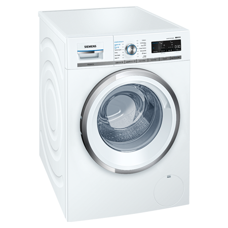 SIEMENS WM14W750, iQ500 Freestanding 9Kg 1400rpm Washing Machine White