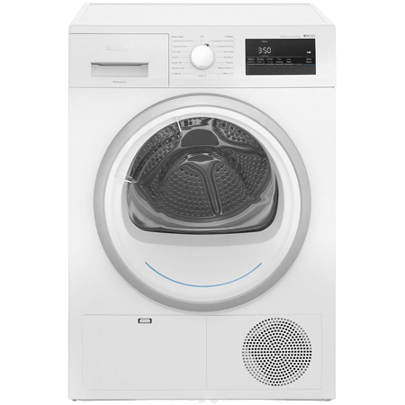 SIEMENS WT45H200GB, 8kg Heat Pump Condenser Tumble Dryer with A++ Energy Rating in White. Ex-Display Model
