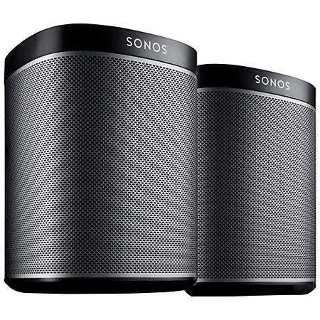 SONOS | PLAY1 Starter Bundle Black | SNSBPLY1UK1BLKHBUK / PLAY:1 / PLAY1 / PLAY1-Black