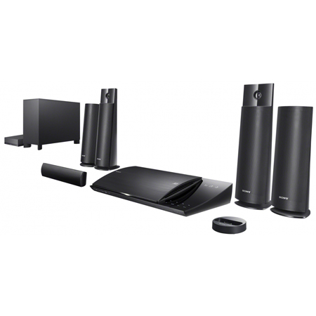 SONY BDVN790W, 5.1ch 3D Blu-Ray Disc/DVD Home Cinema System with Wireless Rear Speakers