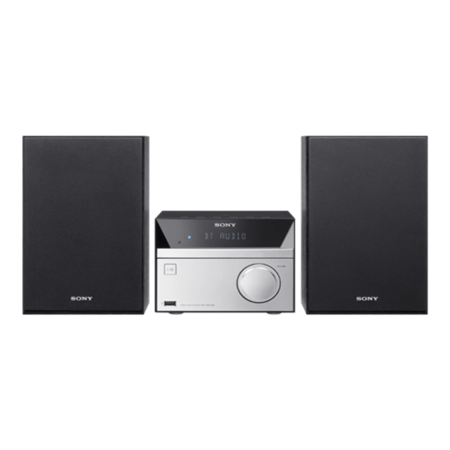 SONY CMTSBT20, Hi-Fi system with 12W output, Bluetooth & NFC, CD player, FM radio tuner, USB, & Mega Bass.Ex-Display Model