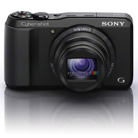 SONY DSCHX20VB, High Performance Compact Cyber-Shot with 18.2 Megapixels Exmor R, 20x Optical Zoom, Full HD 50p, 3D, 7.5cm LCD, Intelligent Sweep Panorama & GPS Log Recording