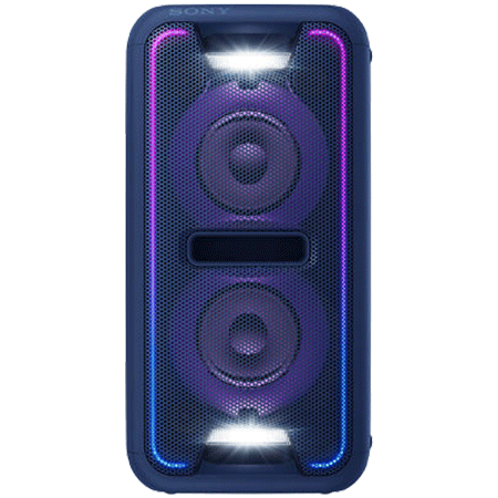 SONY GTKXB7L, Boombox with Wireless Bluetooth NFC Speaker With LED Lighting in Blue