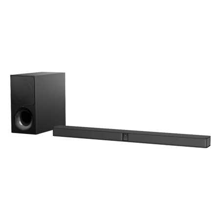 SONY HTCT290, 2.1ch Soundbar & Wireless Subwoofer with S-Force PRO Front Surround, and Bluetooth connectivity.