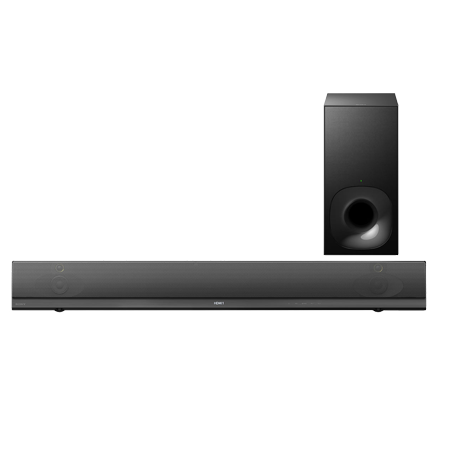 SONY HTNT5, 2.1ch Soundbar with High-Resolution Audio with Wi-Fi -Black