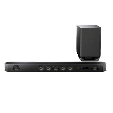 SONY HTST9, 7.1ch Soundbar with Wi-Fi, Bluetooth, NFC Soundbar with Wireless Subwoofer.Ex-Display
