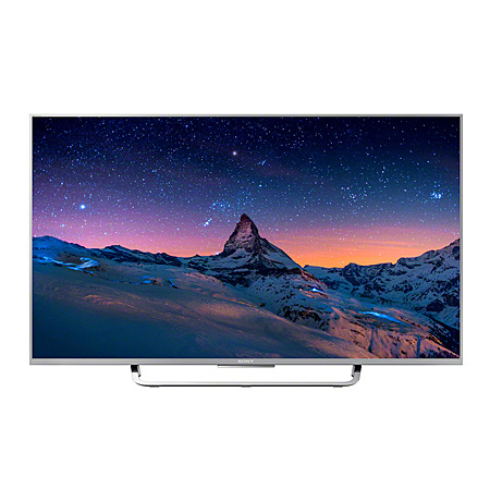 SONY KD43X8307CSU, 43 Smart LED Ultra HD 4K Android TV with 900 Hz Motionflow XR & X1 X-Reality PRO, Freeview HD and Built-in Wi-Fi  in Silver