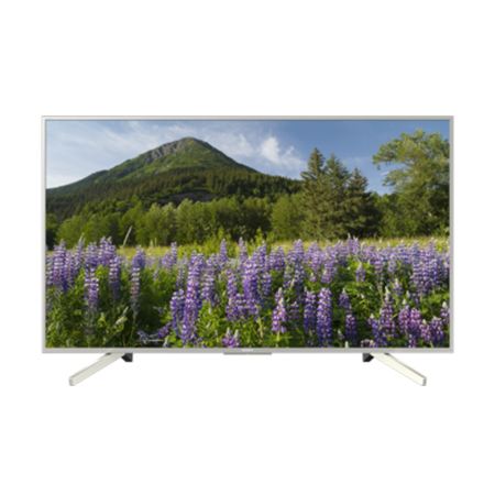 SONY KD49XF7073SU, 49 Smart 4K HDR LED TV with Youview and Built-in Wi-Fi