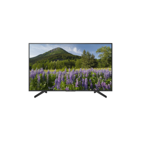 SONY KD49XF7093BU, 49 Smart 4K HDR LED TV with Youview and Built-in Wi-Fi