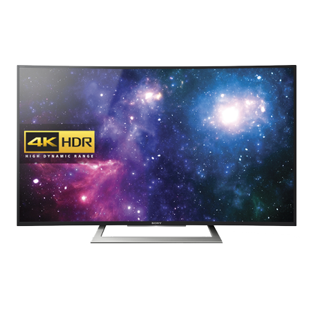 SONY KD50SD8005BU, 50 Curved Smart LED Ultra HD 4K Android TV. Ex-Display Model