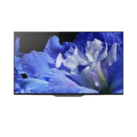 SONY KD55AF8BU, 55 inch Smart Android Ultra HD 4K Bravia OLED TV with HDR, Youview and Built-in Wi-Fi. Ex-Display Model