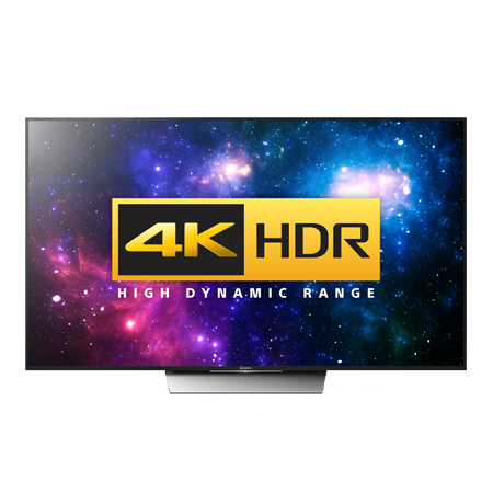 SONY KD55XD8599BU, 55 Smart LED Ultra HD 4K Android TV with 1000 Hz Processing Rate, 4K HDR, Built-in WiFi & Freeview HD. Ex-Display Model