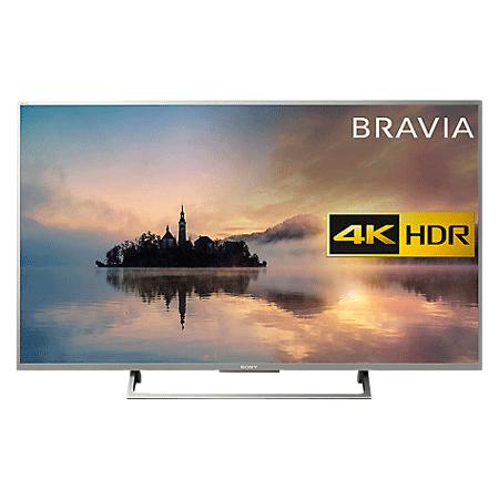 SONY KD55XE7073SU, 55 Ultra HD Smart 4K LED TV with Motionflow XR 400 Hz Freeview HD & Built-in Wi-Fi & Silver Bezel