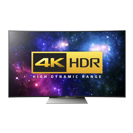 SONY KD65SD8505BU, 65 Smart LED Ultra HD HDR 4K Curved Android TV