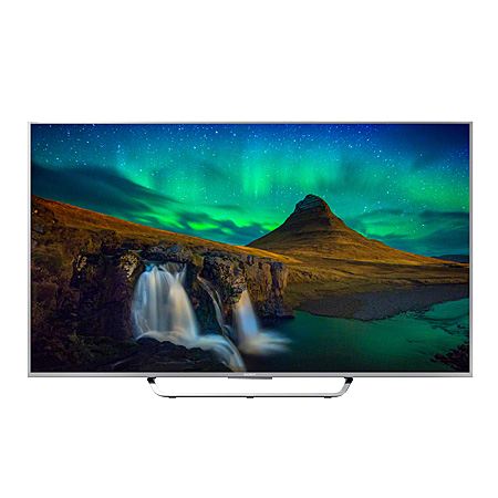 SONY KD65X8507CSU, 65 Smart 3D LED Ultra HD 4K Android TV with 900 Hz Motionflow XR, Triluminos display & X1 X-Reality PRO, Freeview HD and Built-in Wi-Fi  in Silver.