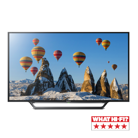 SONY KDL32WD603BU, 32 HD Ready Smart LED TV with X-Reality PRO, Freeview HD & Built-in WiFi