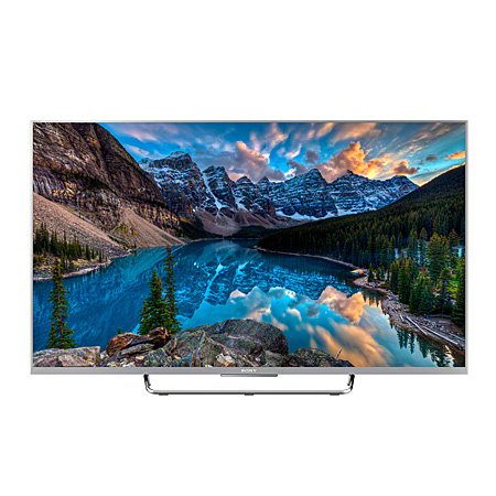SONY KDL43W807CSU, 43 Full HD 1080p Smart 3D  Android TV with Youview,Freeview HD and Built-in Wi-Fi -Silver