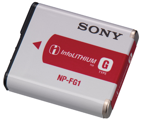 SONY NPFG1, Lithium-ion Rechargeable Battery