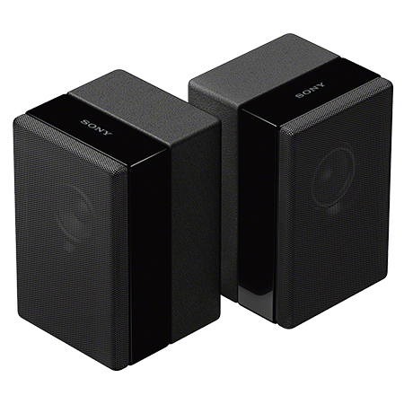 SONY SAZ9R, Surround Speakers for The Soundbar HTZF9 - Set of 2 Speaker - Black
