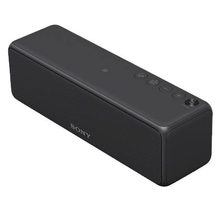 SONY SRSHG1B, Portable Wireless Speaker with Bluetooth, NFC, WiFi.  Charcoal Black