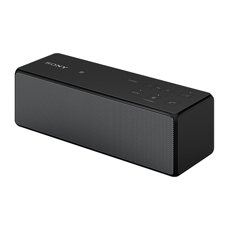 SONY SRSX33B, Portable Wireless Speaker with Bluetooth in Black