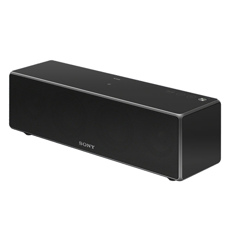 SONY SRSZR7B, Portable Wireless Speaker with Bluetooth, NFC, WiFi.  Black