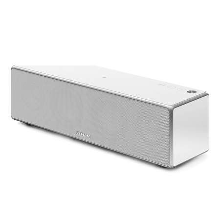 SONY SRSZR7W, Portable Wireless Speaker with Bluetooth, NFC, WiFi.  White