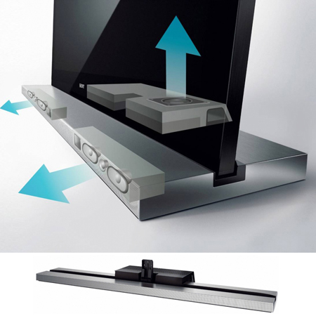 SONY SUB461SU, Monolithic Design TV Stand with Built-In Speakers