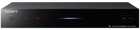 SONY SVRHDT1000B, Freeview HD Set Top Box with 1TB HDD