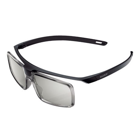 SONY TDG500P, Passive 3D glasses with lightweight, durable design