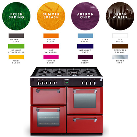 STOVES 1100DFTHJA, 1100mm Dual Fuel Range Cooker