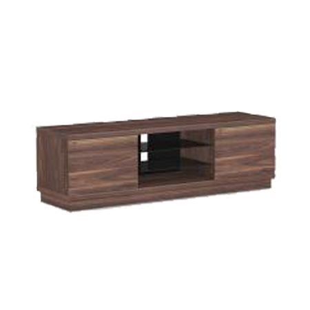 TTAP Harmony 01 1600mm Walnut, Cabinet Stand with 2 shelves for TV