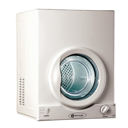 White Knight C36AW, Freestanding Compact 3Kg Vented Tumble Dryer