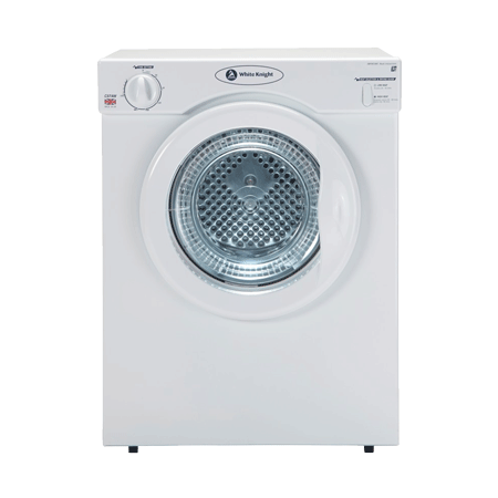 White Knight C37AW, Freestanding Compact 3kg Tumble Dryer White
