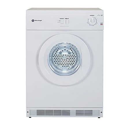 White Knight C44AW, Freestanding 6kg Vented Dryer White