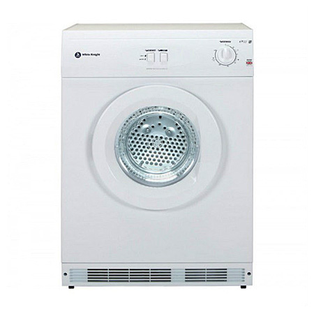 White Knight C45CW, 7kg Freestanding Vented Dryer White