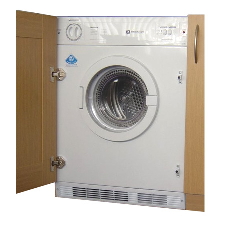 White Knight C8317WV, Integrated 7Kg Vented Dryer with Sensor