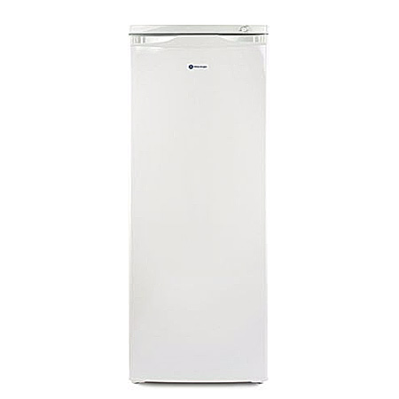 White Knight F170H, Freestanding Static Freezer WhiteIce Blue
