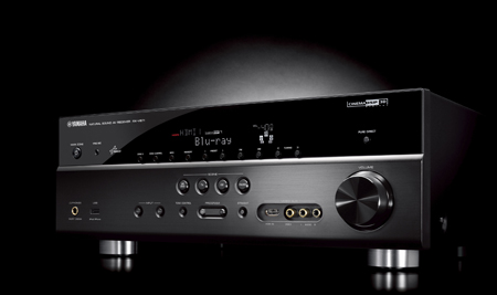 YAMAHA RXV671, 7.1ch Network AV Receiver with 3D, ARC & iPhone App Compatibility, HD Audio Decoding with CINEMA DSP 3D & 1080p Upscaling