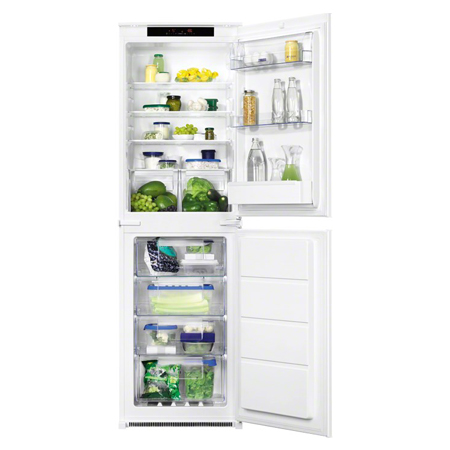 Zanussi ZBB27650SA, Built-in Frost Free Fridge Freezer