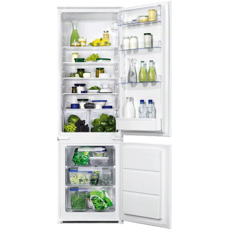 Zanussi ZBB28441SA, In-Column Low Frost Fridge Freezer.Ex-Display