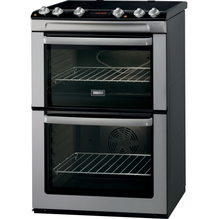 Zanussi ZCI660MXC, Electric Cooker with Double Oven and Induction Hob