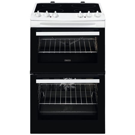 Zanussi ZCV46050WA, Electric Cooker with Double Oven