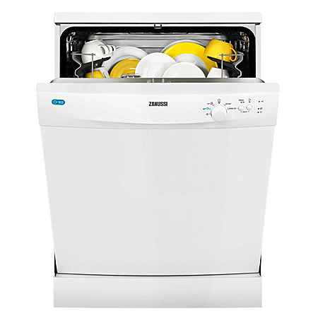 Zanussi ZDF21001WA, Freestanding 60cm Dishwasher with A+ Energy Rating - White