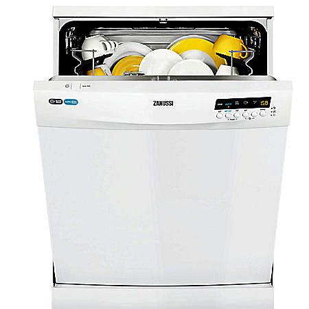 Zanussi ZDF26001WA, Freestanding 60cm Dishwasher with A+ Energy Rating - White