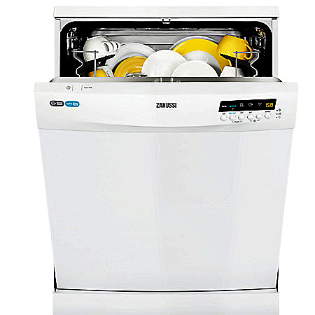 Zanussi ZDF26001WA, Freestanding 60cm Dishwasher with A+ Energy Rating - White.Ex-Display Model