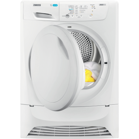 Zanussi ZDP7202PZ, 7kg Condenser Dryer White with Sensor