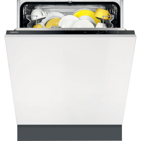 Zanussi ZDT21002FA, Built-In Dishwasher Black